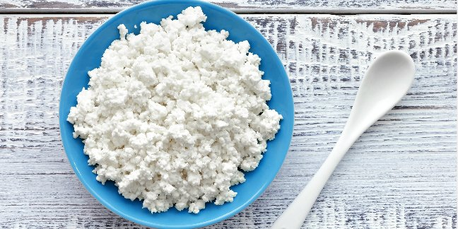cottage cheese for baby food