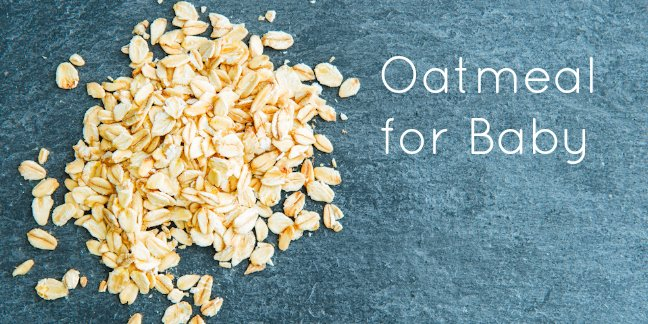 Bulk oats make great baby food!